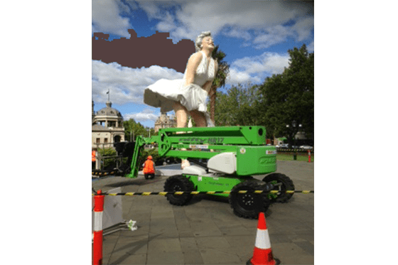 Bendigo Hire Marilyn Monroe Sculpture