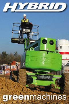 Niftylift Hire Equipment Green Machines