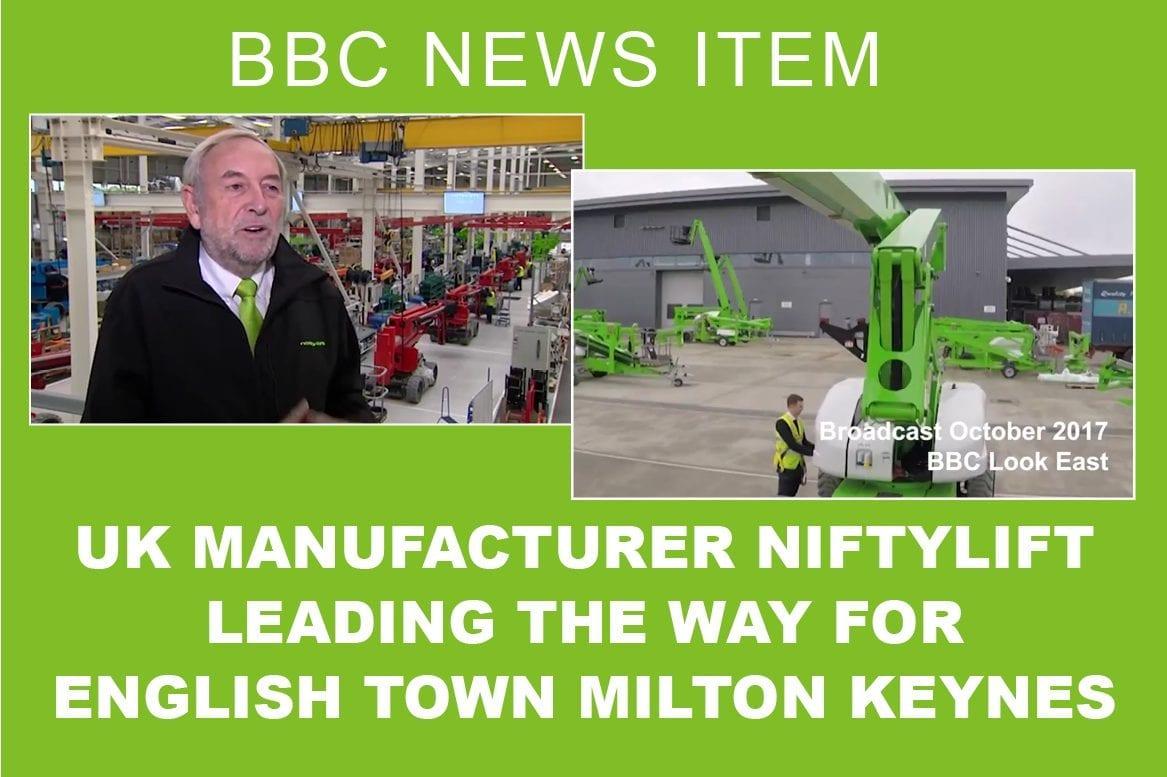 Niftylift BBC news item